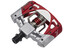 Crankbrothers Mallet 3 Pedalen rood/zilver